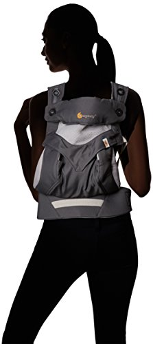 eb83c74f837 Ergobaby Four Position 360 Cool Air Mesh Baby Carrier Carbon Grey ...