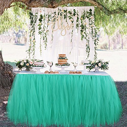 Astounding Baby And Home Products Aytai Tutu Table Skirt Tulle Tableware Funny Birthday Cards Online Overcheapnameinfo
